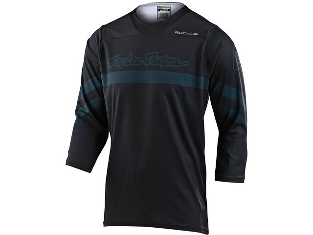 Troy Lee Designs Ruckus Factory Camo Maglietta Jersey 3/4, black/grey